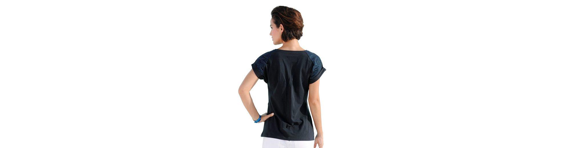 Alba Moda Shirt mit Schmucksteinen Kaufen Günstig Online Gut Verkaufen Low-Cost Online ZtnuGxM3