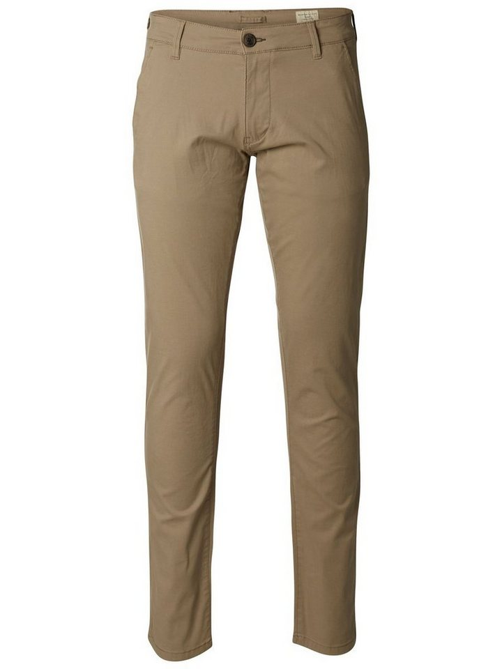 SELECTED Regular-Fit- Chino in Greige