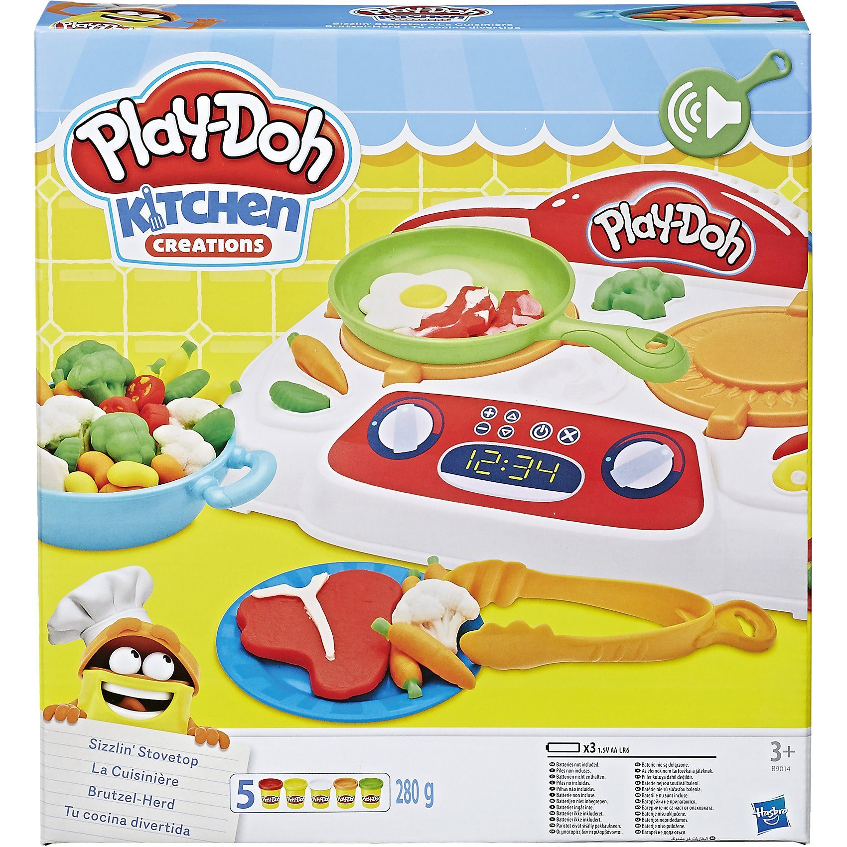 Hasbro Play-Doh Kitchen Brutzel-Herd