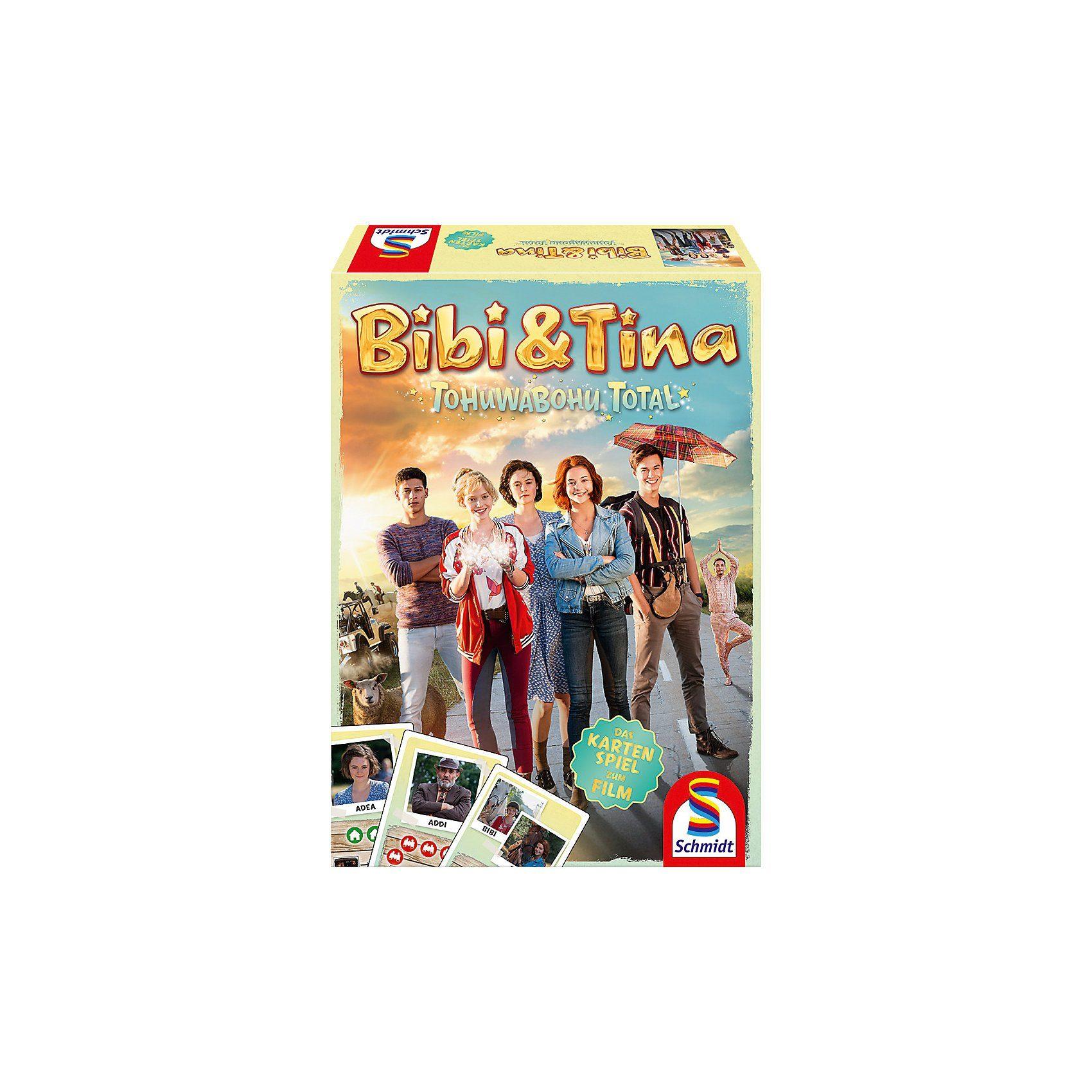 Schmidt Spiele Bibi & Tina, Tohuwabohu Total, Das Kartenspiel zum Kinofilm