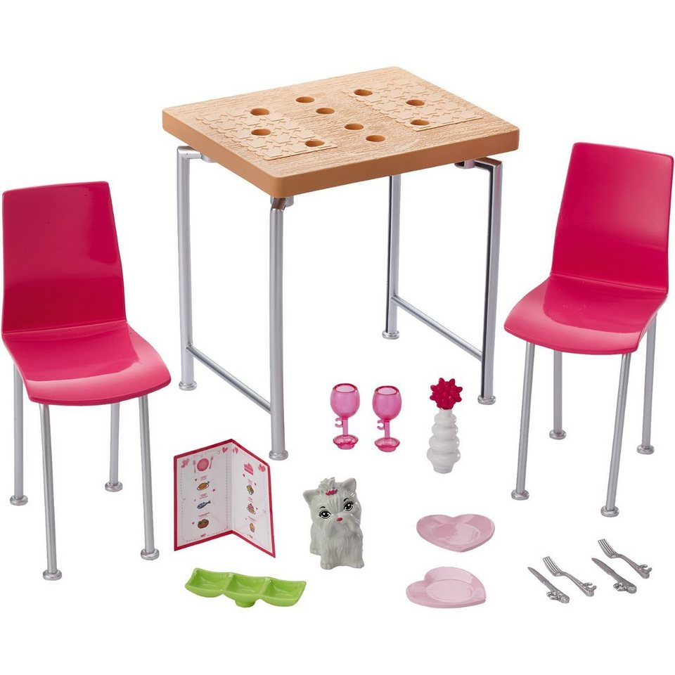 mattel barbie inneneinrichtung esszimmer kaufen otto. Black Bedroom Furniture Sets. Home Design Ideas