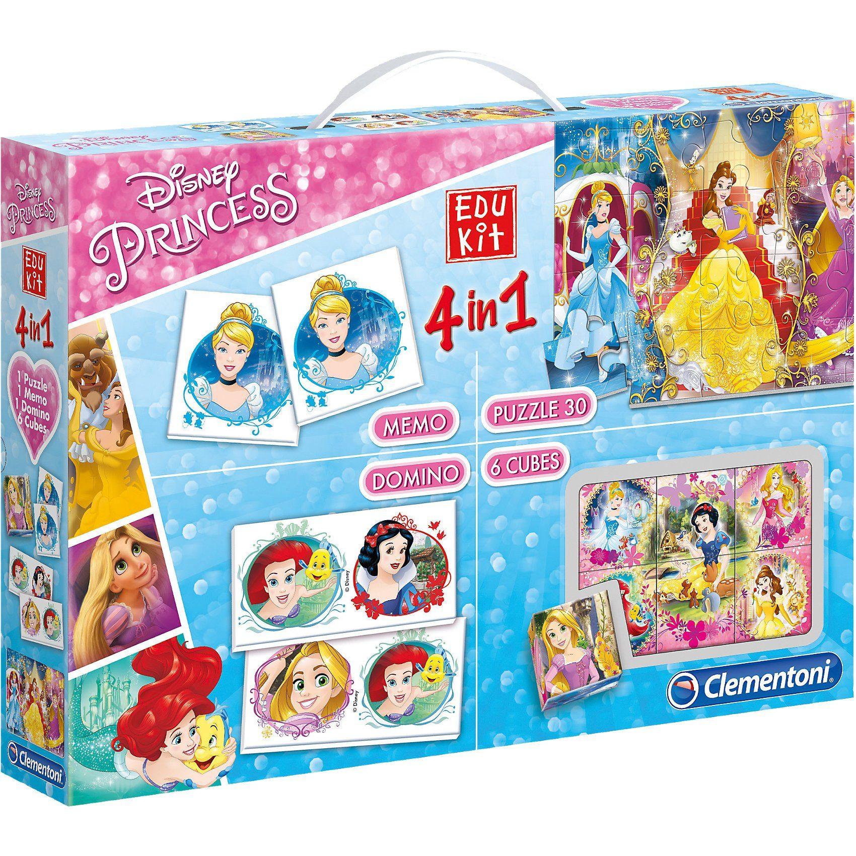 Clementoni® Edukit 4 in 1 - Disney Princess