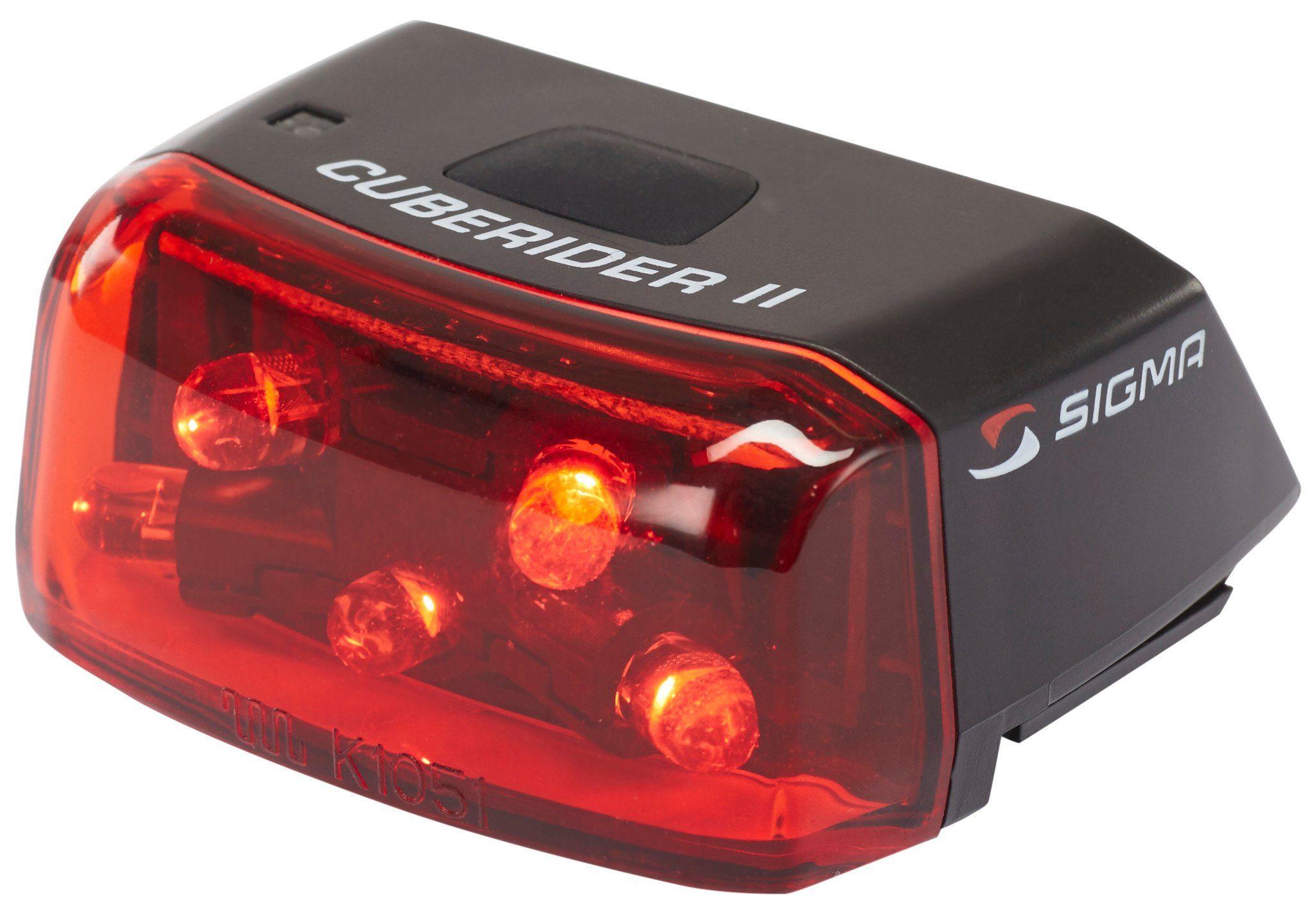 Sigma Sport Fahrradbeleuchtung »Cuberider II LED Rückleuchte«