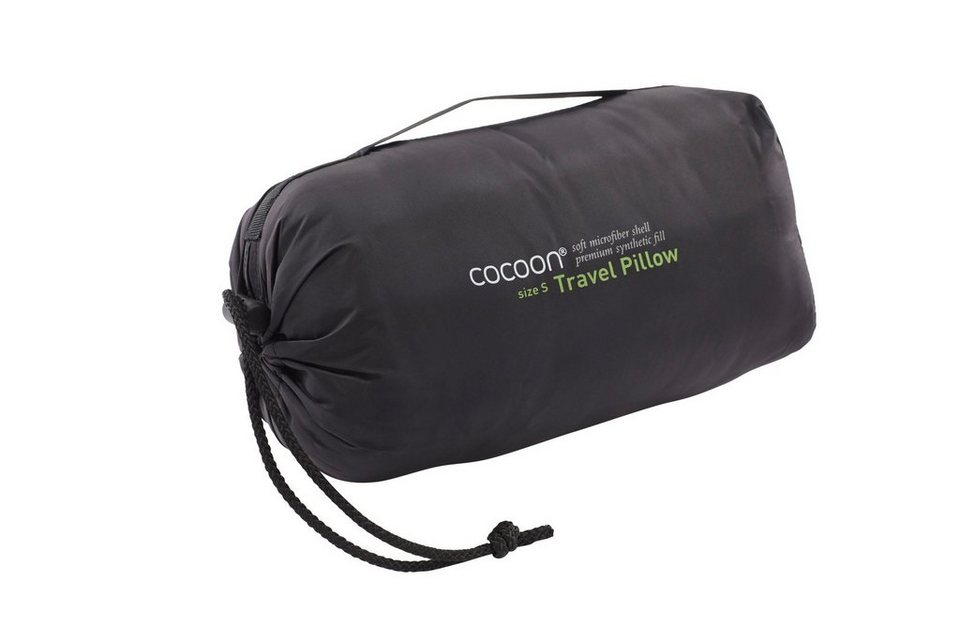 Cocoon Outdoor-Equipment »Travel Pillow Microfiber/Nylon Shell Synthetic« in grau