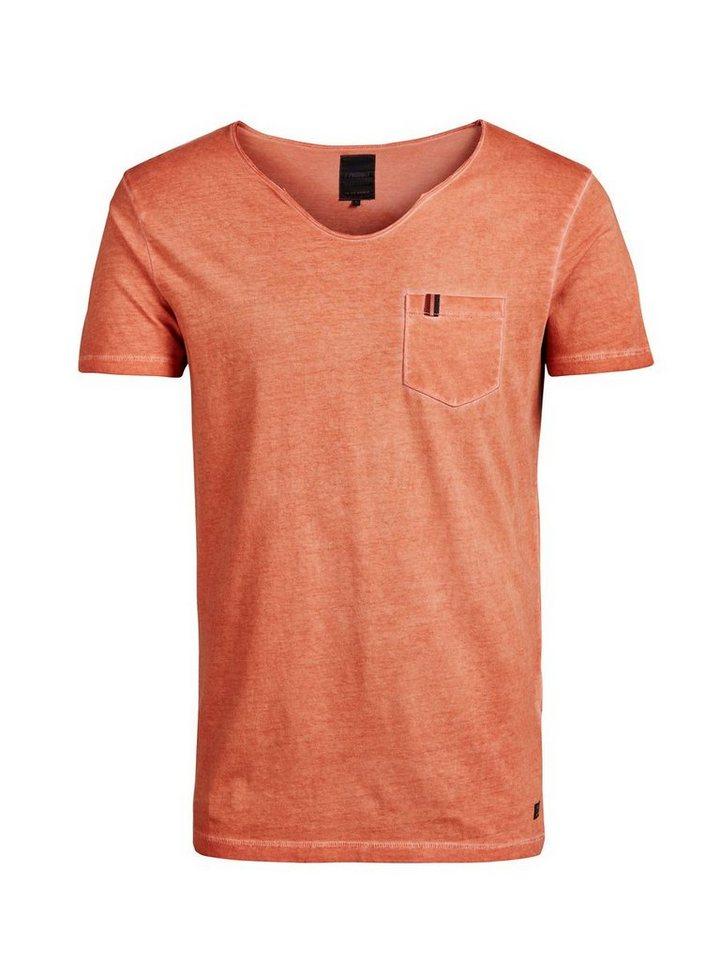 PRODUKT Effet délavé T-Shirt in Potters Clay