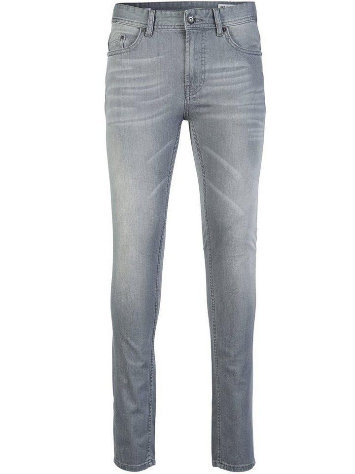 ONLY & SONS Avi Skinny Fit Jeans in Light Grey Denim
