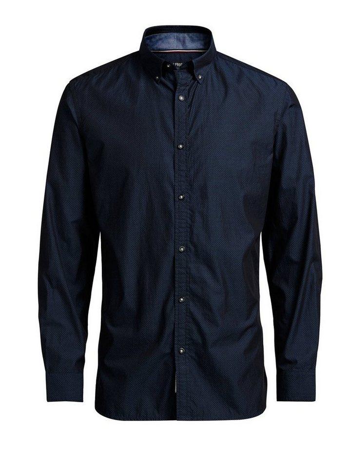 PRODUKT Minimalistisches Hemd in BLACK NAVY