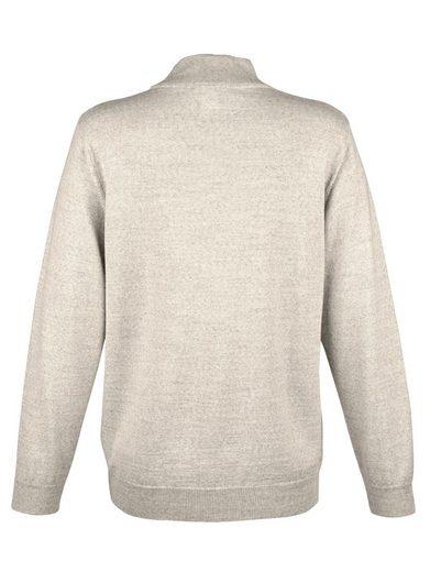 Mona Stehbund-Pullover mit Merino-Schurwolle