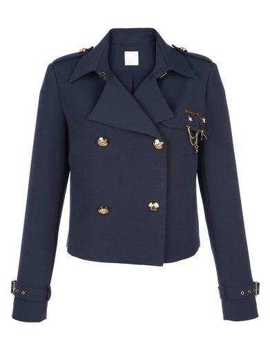 Alba Moda Kurzjacke im Trenchcoat-Style