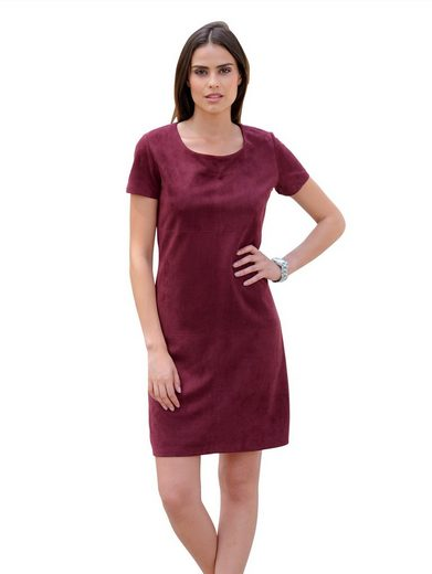 Alba Moda Kleid aus hochwertigem Kunstleder