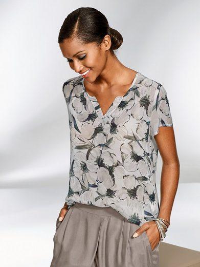 Alba Moda Bluse aus reiner Viskose