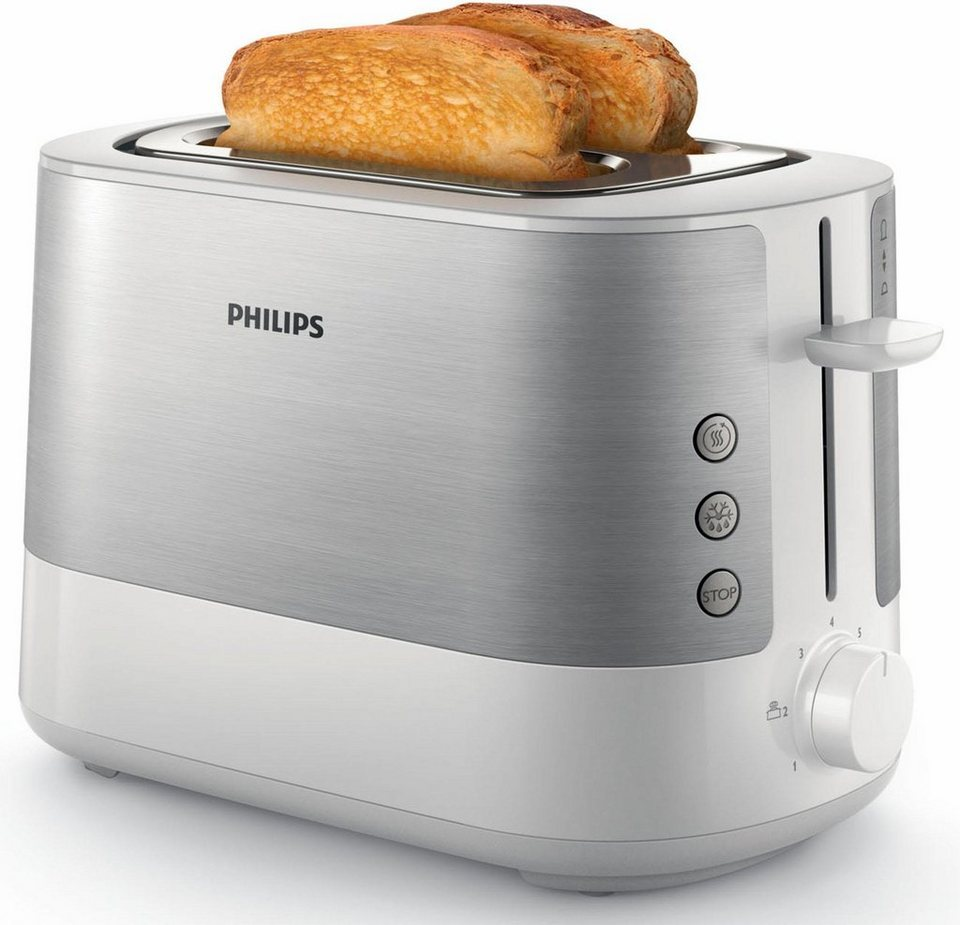 philips toaster hd2637 00 vivacollection f r 2 scheiben. Black Bedroom Furniture Sets. Home Design Ideas