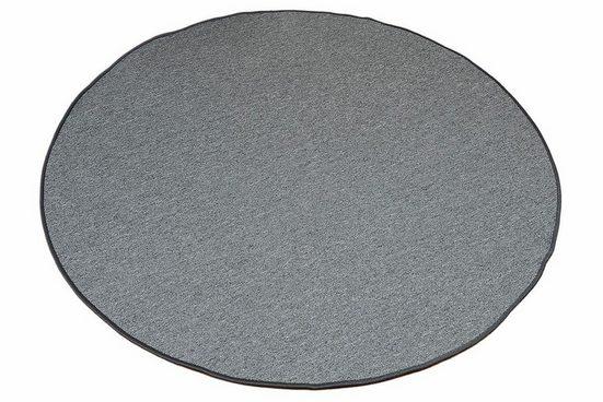Teppich »Torronto«, Living Line, rund, Höhe 5 mm, Kurzflor