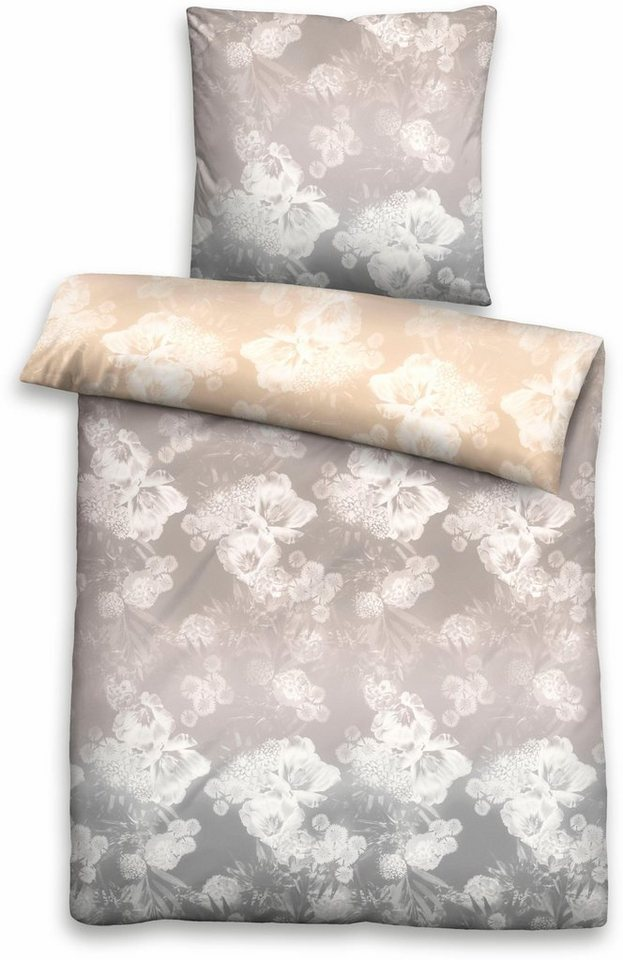 bettw sche biberna shade mit klassischen bl tenmotiven online kaufen otto. Black Bedroom Furniture Sets. Home Design Ideas