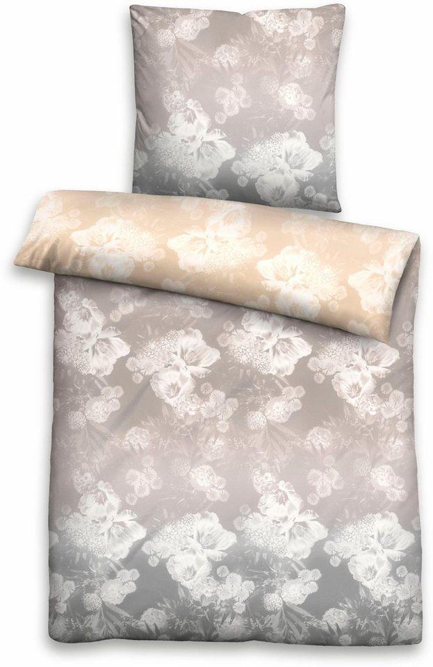 Bettwäsche »Shade«, Biberna, mit klassischen Blütenmotiven online ...