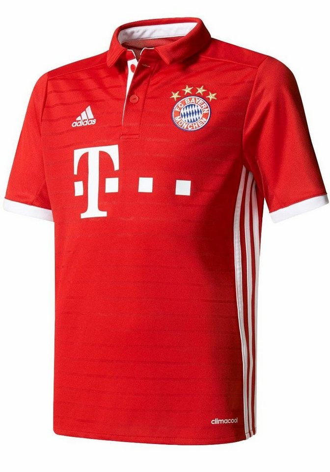 adidas Performance Trikot »FC BAYERN HOME JERSEY YOUTH« in rot