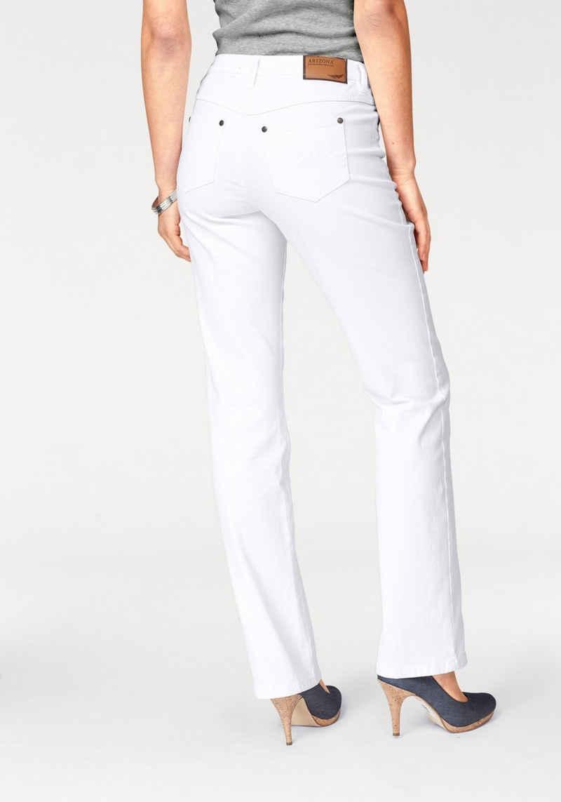 Arizona Gerade Jeans »Comfort-Fit« High Waist
