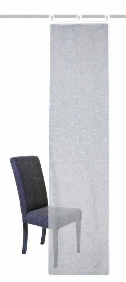 schiebegardine ilanz home wohnideen schlaufen 1 st ck. Black Bedroom Furniture Sets. Home Design Ideas