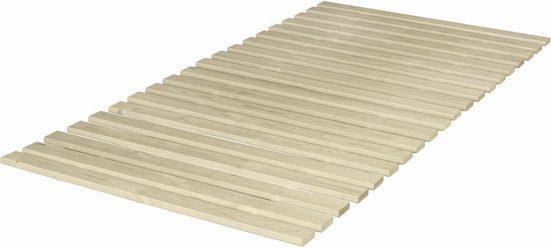 Rollrost, »Fichte«, Breckle, 20 Leisten, Kopfteil nicht verstellbar, Fußteil nicht verstellbar, stabil und robust, für alle Matratzen geeignet, Made in Germany