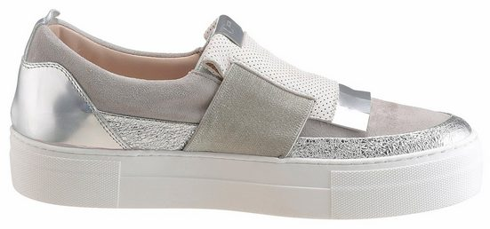 Donna Carolina Slipper, The Sneaker Look With Metallic Insert