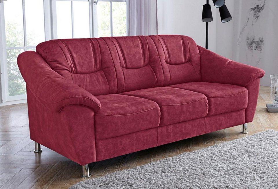 sit more 3 sitzer mit federkern online kaufen otto. Black Bedroom Furniture Sets. Home Design Ideas