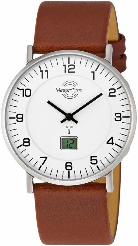 MASTER TIME Funkuhr »MTGS-10561-12L«, mit Langzeitbatterie