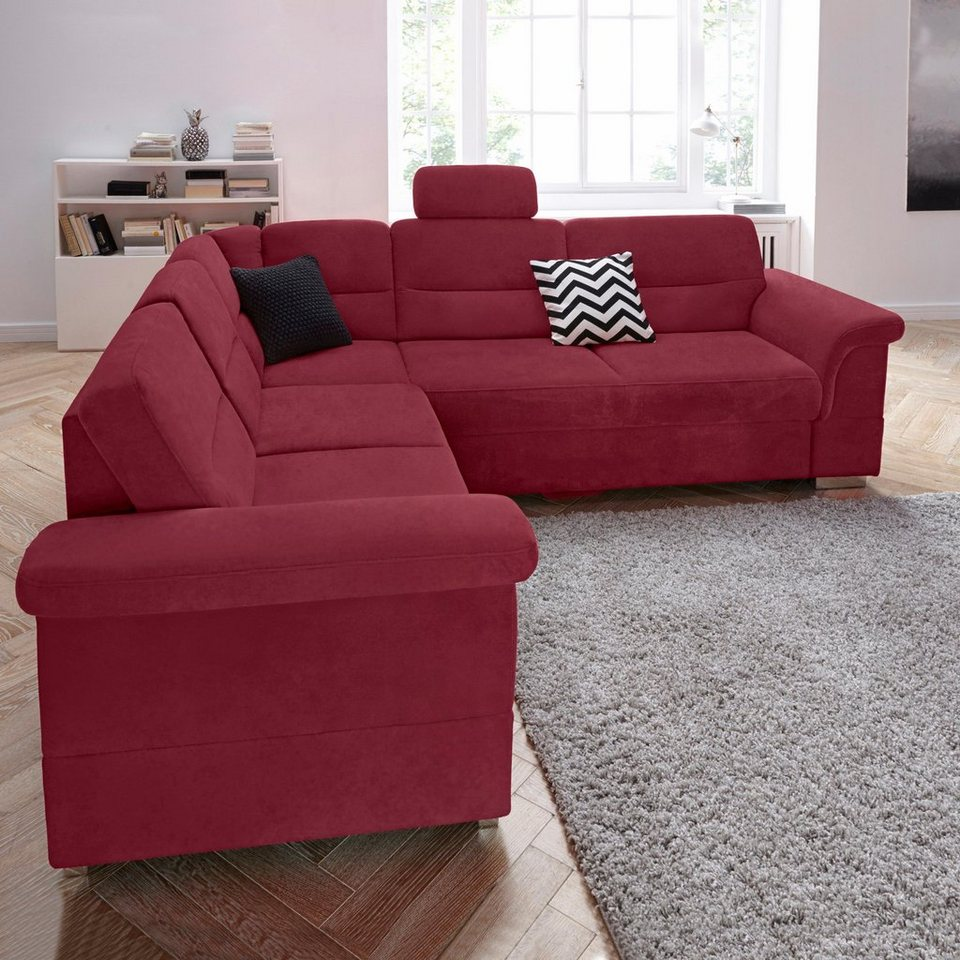 sit more polsterecke wahlweise mit bettfunktion und. Black Bedroom Furniture Sets. Home Design Ideas