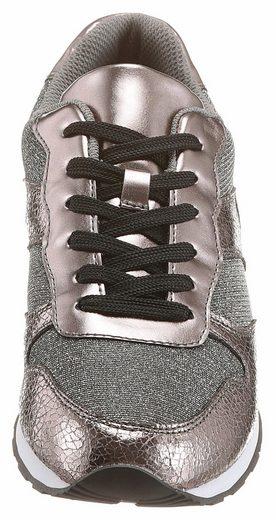 CITY WALK Sneaker, in Metallic-Optik