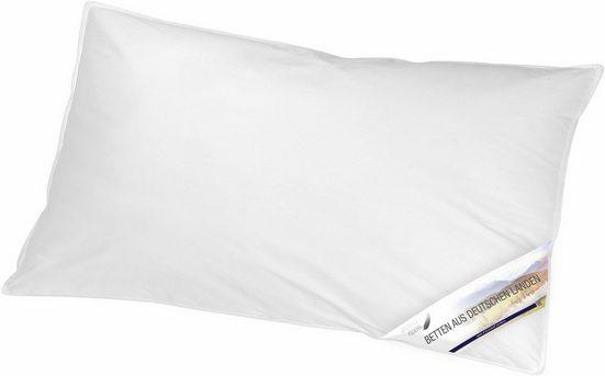 Federkissen, »Betten aus Deutschen Landen«, KBT Bettwaren, Füllung: 70% Federn, 30% Daunen, (1-tlg)
