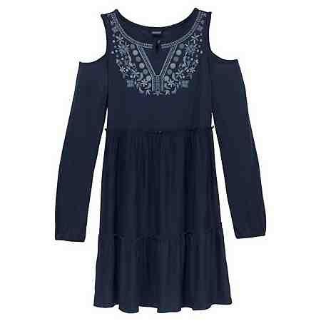 Kleider: Langarm Kleider