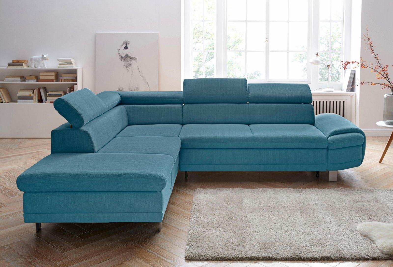sit&more Polsterecke, wahlweise mit Bettfunktion und Bettkasten
