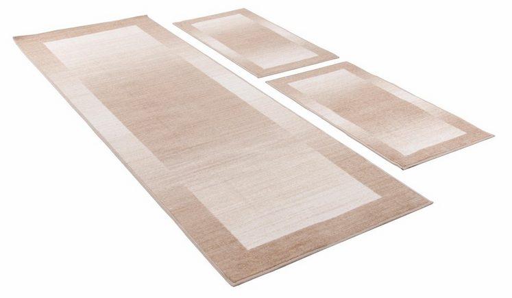 Bettumrandung »Gabbeh Ideal« THEKO, höhe 6 mm, (3-tlg), getuftet