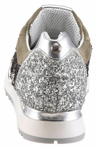 Donna Carolina Sneaker, in funkelnder Optik