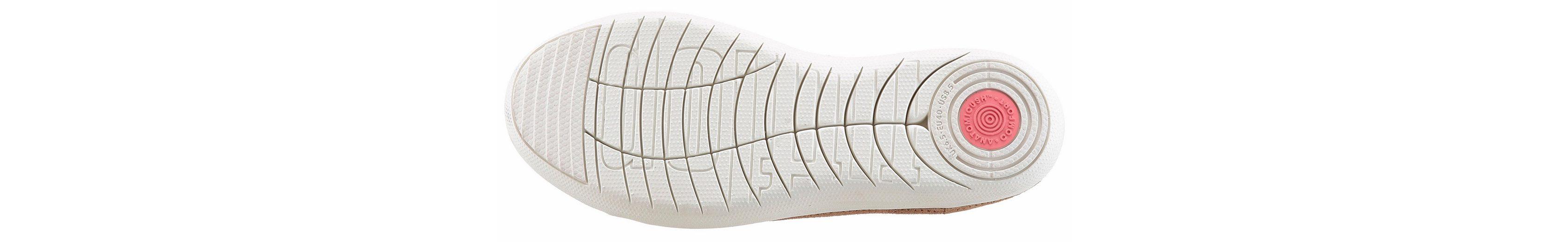 Fitflop F-Sporty Laceup Sneaker Schnürschuh, mit Stretcheinsatz