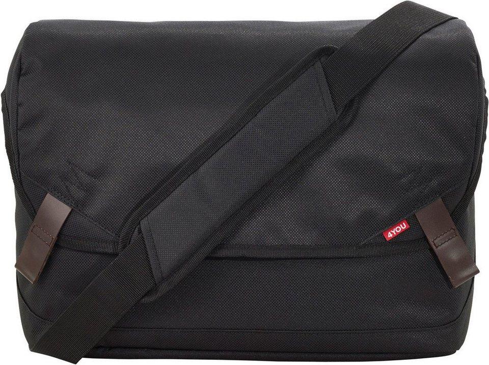 Online-Verkauf neueste Art von UK-Shop 4YOU Umhängetasche mit Laptopfach, Black, »Messengerbag M« online kaufen |  OTTO