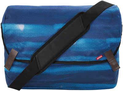 4YOU Umhängetasche »Messengerbag M, Shades Blue«, mit Laptopfach