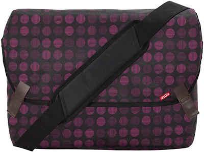 4YOU Umhängetasche »Messengerbag M, Minidots«, mit Laptopfach