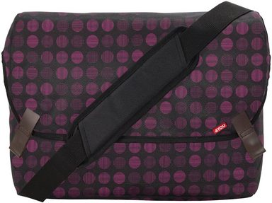 Minidots Umhängetasche 4you »messengerbag Mit M« Laptopfach wAwd1t