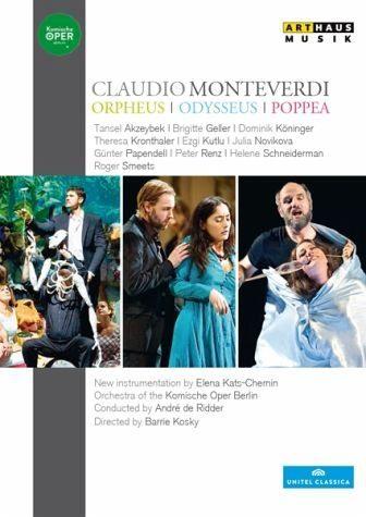 DVD »Orpheus/Odysseus/Poppea«