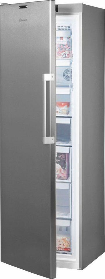 bauknecht gefrierschrank gkn 19g4s a2 in a 187 5 cm hoch nofrost online kaufen otto. Black Bedroom Furniture Sets. Home Design Ideas