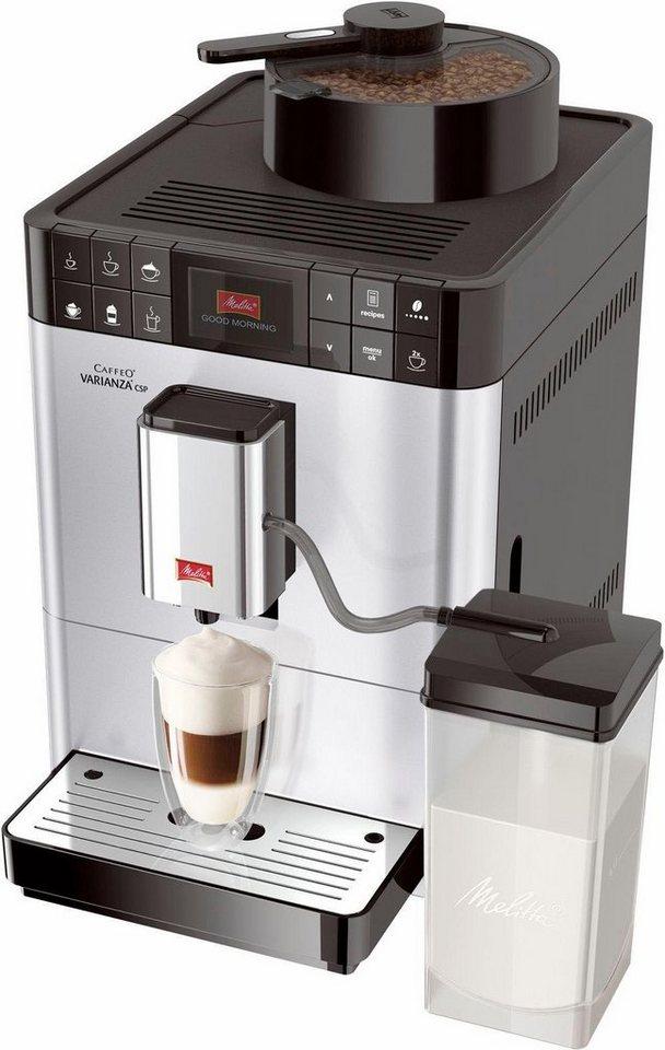 melitta kaffeevollautomat caffeo varianza csp f57 0 101 mit integriertem milchtank online. Black Bedroom Furniture Sets. Home Design Ideas