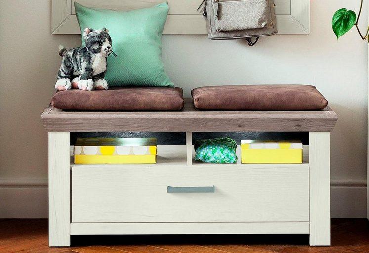 set one by Musterring Lowboard »york«, Typ 04, Pino Aurelio, im Landhaus Stil