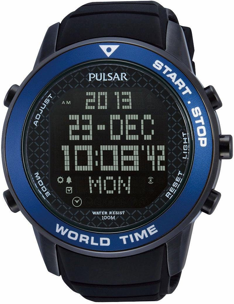 Pulsar Chronograph »PQ2029X1«, mit 100-Rundenspeicher