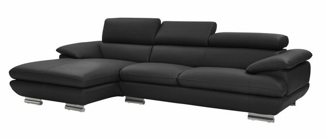 Sofas - CALIA ITALIA Ecksofa »Magic«, in 2 Lederqualitäten  - Onlineshop OTTO