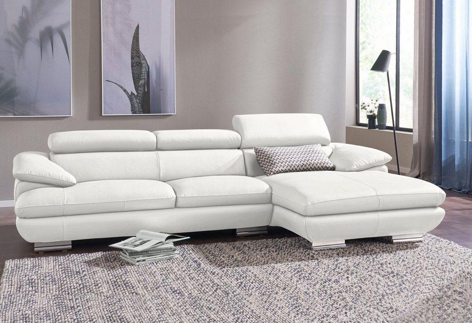 calia italia polsterecke magic in 2 lederqualit ten. Black Bedroom Furniture Sets. Home Design Ideas