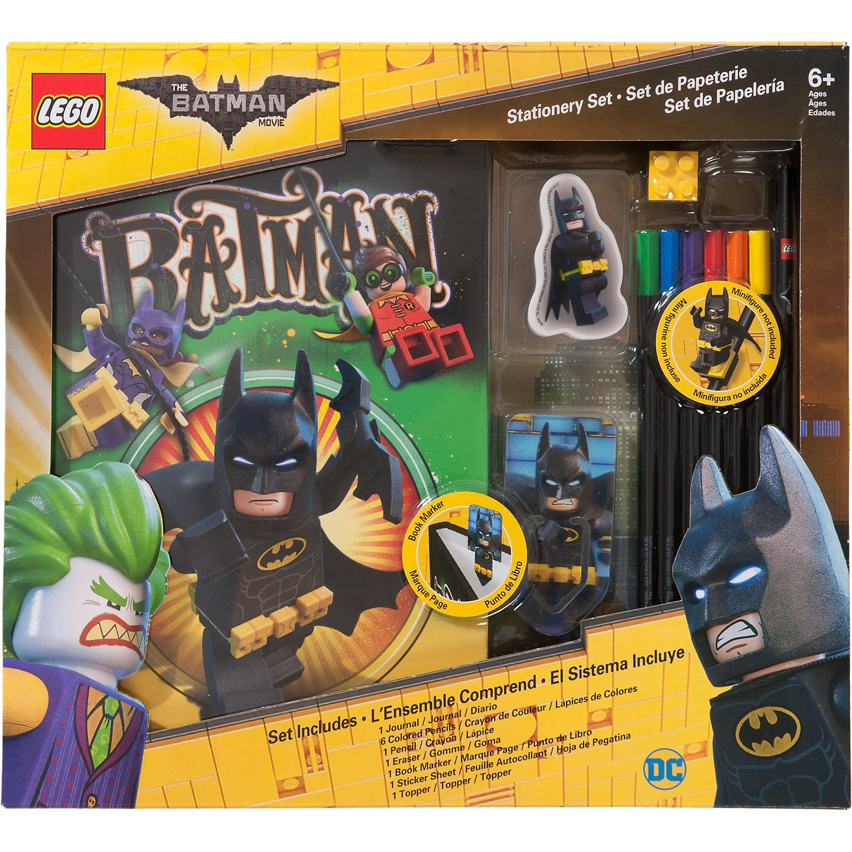 LEGO Batman Movie Schulset, 6-tlg.
