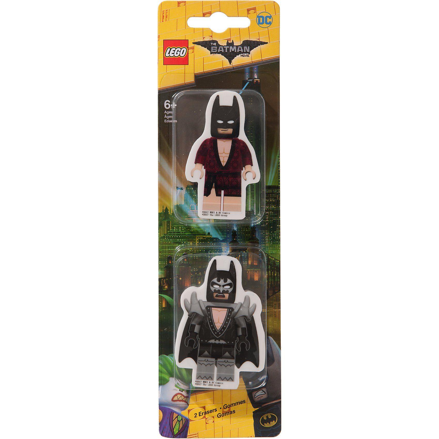Lego® Batman Movie Radierer, 2 Stück