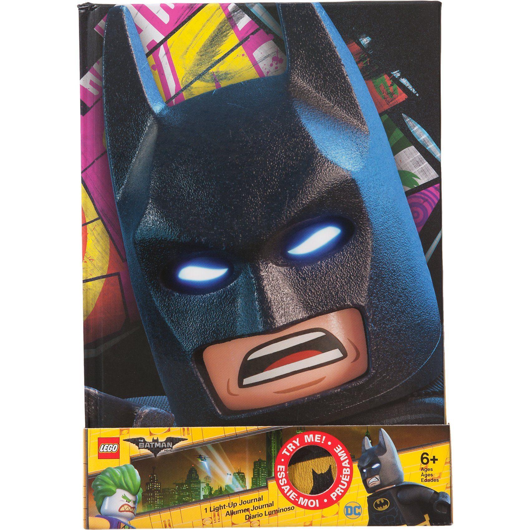 Batman Movie Notizbuch mit Leuchtaugen