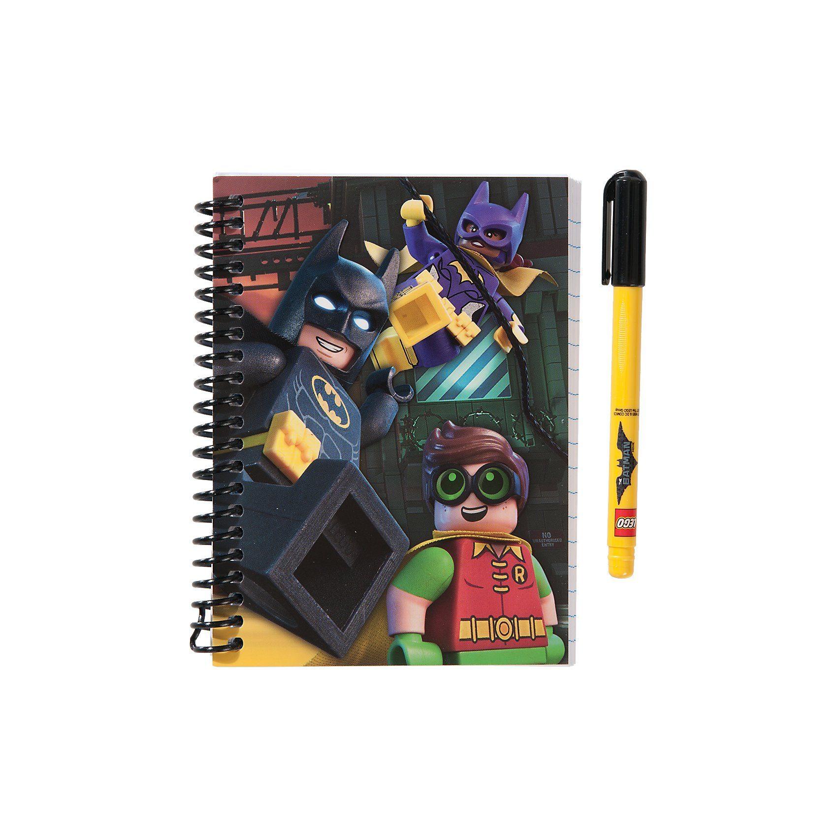 LEGO Batman Movie Mini-Spiralbuch, inkl. Gelschreiber