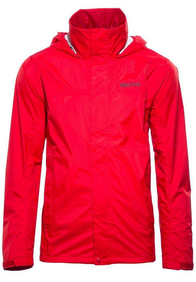 Marmot Regenjacke »PreCip Jacket Men« in rot